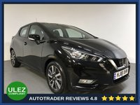 USED 2018 18 NISSAN MICRA 0.9 IG-T ACENTA 5d 89 BHP FULL NISSAN HISTORY - 1 OWNER - SAT NAV - REAR SENSORS - CAMERA - AIR CON - BLUETOOTH - DAB - CRUISE - PRIVACY