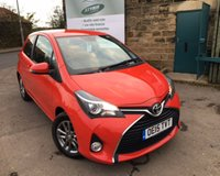 USED 2015 15 TOYOTA YARIS 1.0 VVT-I ICON 3d 69 BHP Toyota Service History Zero Rate Road Tax
