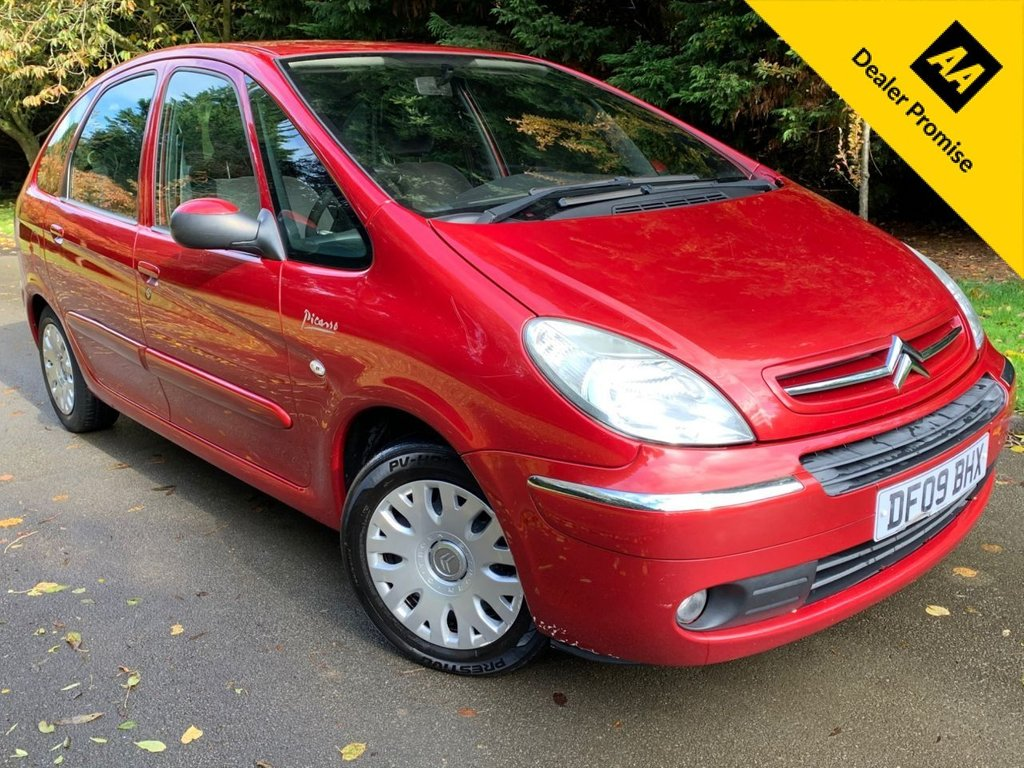USED 2009 09 CITROEN XSARA PICASSO 1.6 PICASSO DESIRE 16V 5d 108 BHP ONLY 2 PREVIOUS OWNERS,AIR CON