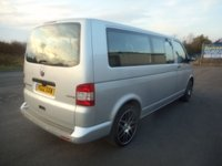 USED 2012 12 VOLKSWAGEN TRANSPORTER 2.0 T32 TDI 140 BHP SAT NAV BRAND NEW ALLOYS AND TYRES NO VAT 150 KMH 9 SEATER SHUTTLE