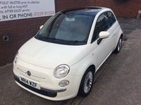 USED 2014 14 FIAT 500 1.2 LOUNGE 3d 69 BHP visit our website to see more fiat 500 s