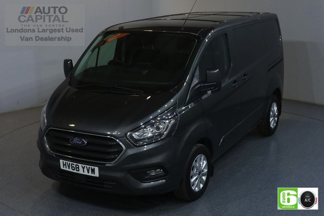 2018 68 FORD TRANSIT CUSTOM 2.0 300 LIMITED L1 H1 129 BHP EURO 6 ENGINE AIR CON, F-R PARKING SENSORS, ALLOY WHEEL, HEATED FRONT SEATS