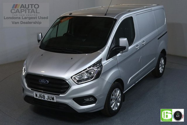 2018 68 FORD TRANSIT CUSTOM 2.0 300 LIMITED L1 H1 129 BHP EURO 6 ENGINE AIR CON, PARKING SENSORS, ALLOY WHEEL, HEATED FRONT SEATS