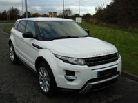 USED 2015 15 LAND ROVER RANGE ROVER EVOQUE 2.2 SD4 DYNAMIC 5d AUTO 190 BHP SAT NAV, LEATHER, REAR CAMERA