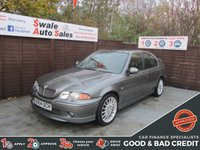 USED 2004 04 MG ZS 1.8 120 5d 116 BHP FINANCE AVAILABLE FROM £14 PER WEEK OVER TWO YEARS - SEE FINANCE LINK FOR DETAILS