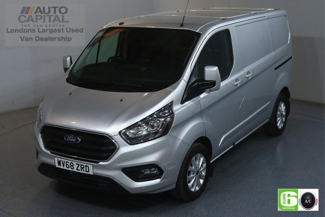 2018 68 FORD TRANSIT CUSTOM 2.0 300 LIMITED L1 H1 129 BHP EURO 6 ENGINE AIR CON, FRONT- REAR PARKING SENSORS, ALLOY WHEEL, HEATED SEATS