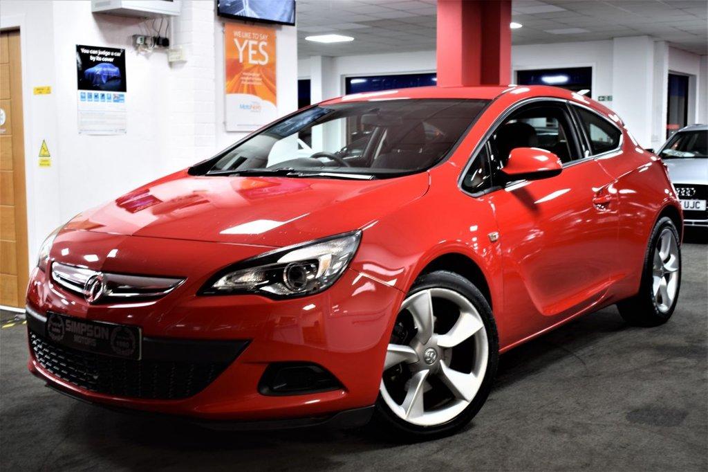 USED 2012 61 VAUXHALL ASTRA 1.4 GTC SPORT S/S 3d 118 BHP