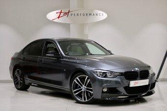 2018 BMW 3 SERIES 3.0 340I M SPORT SHADOW EDITION 4d AUTO 322 BHP £28450.00