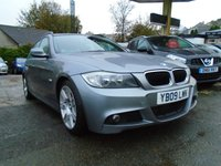 USED 2009 09 BMW 3 SERIES 2.0 318D M SPORT TOURING 5d AUTO 141 BHP