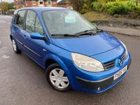 USED 2005 05 RENAULT SCENIC 1.4 EXPRESSION 16V 5d 97 BHP