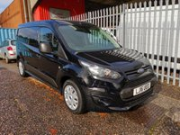 2016 FORD TRANSIT CONNECT 240 TREND L2 LWB 95 PS *AIR CON*3 SEATS* £8495.00