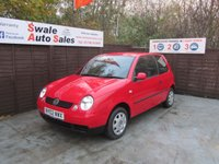 USED 2002 02 VOLKSWAGEN LUPO 1.0 E / BASE 3d 50 BHP FINANCE AVAILABLE FROM £14 PER WEEK OVER TWO YEARS - SEE FINANCE LINK FOR DETAILS