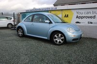 USED 2007 07 VOLKSWAGEN BEETLE 1.4 LUNA 16V 3d 74 BHP PETROL BLUE CAMBELT AND WATER PUMP HAVE BEEN REPLACED