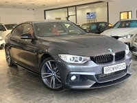 USED 2015 65 BMW 4 SERIES GRAN COUPE 3.0 435D XDRIVE M SPORT GRAN COUPE 4d 309 BHP +M PLUS PACK+M PERF KIT+FBMWH+