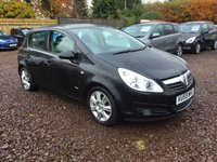 USED 2009 59 VAUXHALL CORSA 1.4 DESIGN 16V TWINPORT 5d 90 BHP EXCEPTIONALLY LOW MILEAGE,WITH SERVICE HISTORY AUTOMATIC