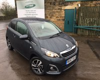 USED 2017 67 PEUGEOT 108 1.2 PURETECH ALLURE 3d 82 BHP Only 1168 Miles!!!!