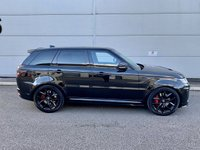USED 2019 69 LAND ROVER RANGE ROVER SPORT SVR 5.0 SVR 5d AUTO 567 BHP