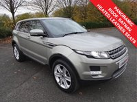 USED 2012 12 LAND ROVER RANGE ROVER EVOQUE 2.2 SD4 PURE TECH 5d AUTO 190 BHP