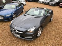 USED 2011 61 MERCEDES-BENZ SLK 1.8 SLK200 BlueEFFICIENCY AMG Sport Edition 125 7G-Tronic Plus 2dr Nav, Pan Roof, Air Scarf FMBSH