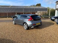 USED 2015 15 VOLVO V40 2.0 D4 R-Design Lux Nav Geartronic 5dr Nav, DAB, Leather, & 19's