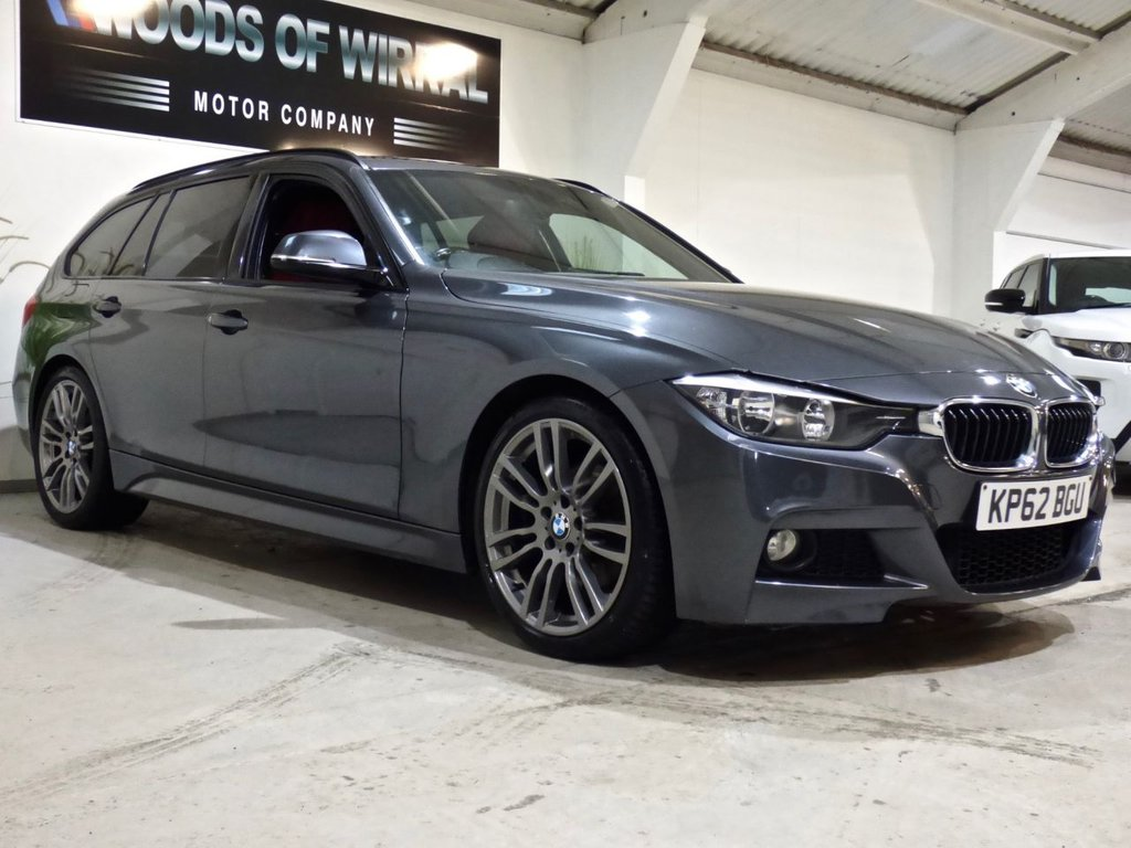 USED 2012 62 BMW 3 SERIES 2.0 320D M SPORT TOURING 5d 181 BHP