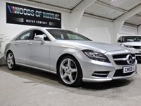 USED 2012 62 MERCEDES-BENZ CLS CLASS 3.0 CLS350 CDI BLUEEFFICIENCY AMG SPORT 4d AUTO 265 BHP