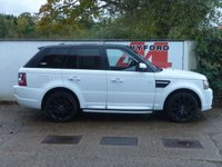 USED 2010 60 LAND ROVER RANGE ROVER SPORT 3.0 TDV6 HSE 5d AUTO 245 BHP 2010 MODEL,FULL SERVICE HISTORY,SIDE STEPS