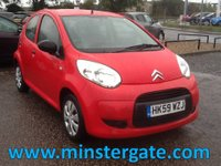 2010 CITROEN C1 1.0 VT 5d 68 BHP * 76000 MILES, £20 TAX, HISTORY, ECONOMICAL * £2590.00
