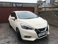 USED 2017 67 NISSAN MICRA 1.5 DCI ACENTA 5d 90 BHP LIKE NEW+B/TOOTH+CRUISE+FSH
