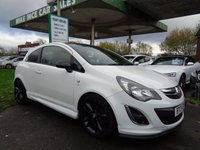 USED 2013 13 VAUXHALL CORSA 1.2 LIMITED EDITION 3d 83 BHP SERVICE HISTORY