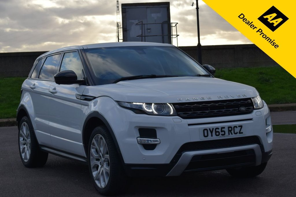 USED 2015 65 LAND ROVER RANGE ROVER EVOQUE 2.2 SD4 DYNAMIC LUX 5d 190 BHP