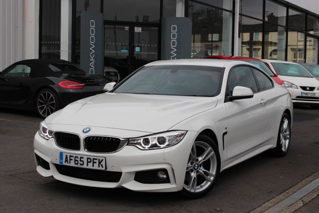 USED 2015 65 BMW 4 SERIES 2.0 420d M Sport 2dr