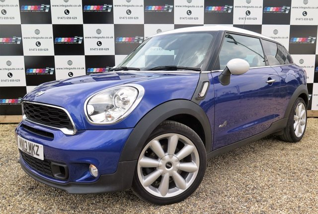2013 13 MINI MINI PACEMAN 2.0 COOPER SD ALL4 3d 143 BHP