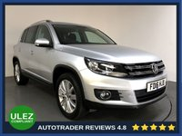 USED 2016 16 VOLKSWAGEN TIGUAN 2.0 MATCH EDITION TDI BMT 4MOTION DSG 5d AUTO 148 BHP FULL VW HISTORY - 1 OWNER - SAT NAV - PARKING SENSORS - AIR CON - BLUETOOTH - DAB - PRIVACY