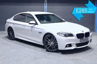 USED 2014 BMW 5 SERIES 520D M SPORT  **ALPINE WHITE,HEATED BLACK LEATHER, M SPORT**