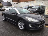 USED 2011 61 PEUGEOT RCZ 2.0 HDI GT 2d 163 BHP 2011 PEUGEOT RCZ HDI GT WITH GOOD SERVICE HISTORY !!