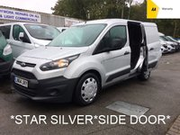 2014 FORD TRANSIT CONNECT L1 1.6 TDCi 200 ECONETIC 94 BHP *SIDE DOOR*SILVER* £5995.00