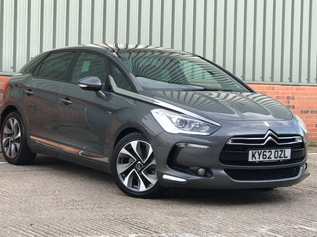 USED 2012 62 CITROEN DS5 2.0 HYBRID4 DSPORT EGS 5d 161 BHP 4x4 FANTASTIC CONDITION AND SPECIFICATION 4X4