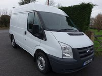 USED 2014 63 FORD TRANSIT 280 SWB MEDIUM HIGH 2.2 TDCI 100 BHP Direct From Leasing Company With Only 37000 Miles & Full Service History, Only Used For Light Use and Comes With Many Extras Including Air Con And Rear Parking Sensors! Choice Availble