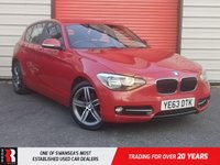 USED 2013 63 BMW 1 SERIES 2.0 116D SPORT 5d 114 BHP IMMACULATE THROUGHOUT