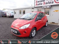 USED 2014 14 FORD KA 1.2 STUDIO PLUS 69 BHP GOOD AND BAD CREDIT SPECIALISTS! APPLY TODAY!