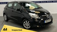 USED 2012 12 TOYOTA YARIS 1.3 VVT-I TR 5d 100 BHP (AIR CON AND ALLOYS)