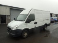USED 2014 64 IVECO DAILY 2.3 35S11V 106 BHP NO VAT