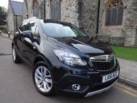 USED 2016 16 VAUXHALL MOKKA 1.4 EXCLUSIV S/S 5d 138 BHP 4 X 4 + 4 X 4 + AIR CONDITIONING +
