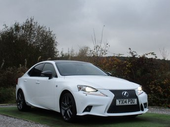 2014 LEXUS IS 2.5 300H F SPORT 4d AUTO 220 BHP £13890.00