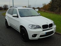 "USED 2012 12 BMW X5 3.0 XDRIVE30D M SPORT 5d AUTO 241 BHP PRO NAV, LEATHER, 20"" ALLOYS"