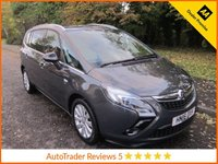 USED 2016 16 VAUXHALL ZAFIRA TOURER 1.4 ENERGY 5d 138 BHP.*SAT NAV*ULEZ COMPLIANT* Fantastic One Lady Owned Low Mileage Vauxhall Zafira Tourer Petrol with Seven Seats, Satellite Navigation, Climate Control, Cruise Control, Alloy Wheels and Vauxhall Service History. This Vehicle is ULEZ Compliant