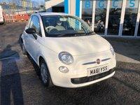 2011 FIAT 500 1.2 POP 3d 69 BHP £3490.00