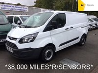 USED 2016 16 FORD TRANSIT CUSTOM 2.2 TDCi 290 L1 SWB 99 BHP *38,000 MILES ONLY*