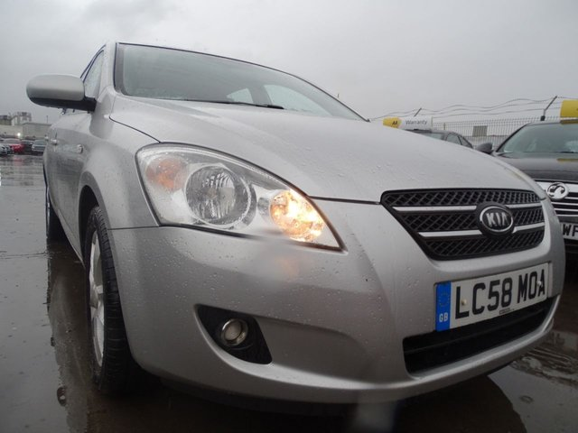 USED 2008 58 KIA CEED 1.6 LS 5d 121 BHP GOOD MILES GREAT CONDITION